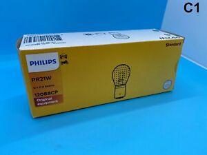 New-782-Philips-Light-Bulb-PR21W-12V-21W-BAW15s-RED-12088CP-Lamp-Light