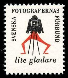 Sweden Poster Stamp - Swedish Photographers' Association