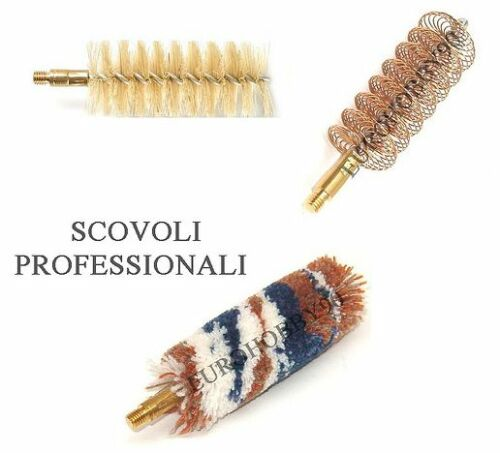 Accessories 3 Pig Cleaning Guns Rifle Hunting brushes Barrel Smooth ruled TP