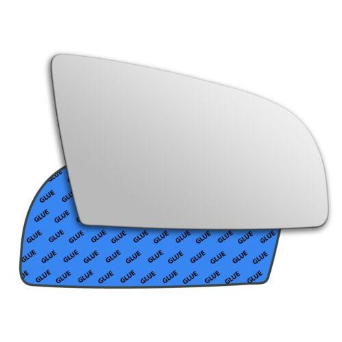 AUDI A3 2003-2008 Main Droite Côté Conducteur Miroir en verre 0006RS