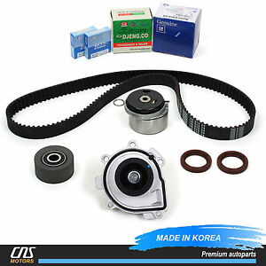 chevrolet timing belt mitsubishi timing belt timing belt kit water pump genuine tensioner 09-14 chevy ...