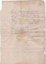 Altes Dokument 1867 Geburtsurkunde Groß Rosinsko Grabowen Ostpreußen Handschrift