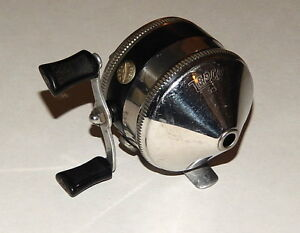 Vintage zebco model 33 spinning reel rare early version for Fishing reels made in usa