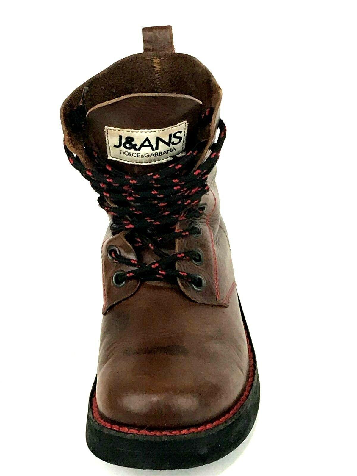Dolce & Gabbana J&ANS Men's Ankle Boots Size UK.8.5 US. 9 EU. 42