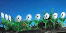 12er Set Beetumrandung Beetabgrenzung Rasenkante Sonnenblumen Kanteneinfassung