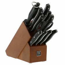 J.A. Henckels International Definition 12-pc Knife Block Set - Hardwood