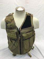 Eagle Industries LH TAC V 1 Assault Vest Khaki Old School Trim Tab SEALs Medium