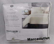 Hotel Collection Eyelet 100% Cotton FULL / QUEEN Duvet Cover Beige