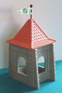 Playmobil-Turm-Turmspitze-Erweiterung-Dach-Eckturm-Ritterburg-3666-252