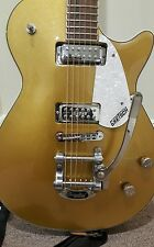 GRETSCH G5438T BIGSBY PRO JET GOLD GUITAR NEAR MINT