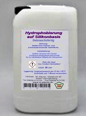 25 Liter Hydrophobierung -schutz Von Schimmel 4,36 Eur/l Algen Moos Mb10a FäHig