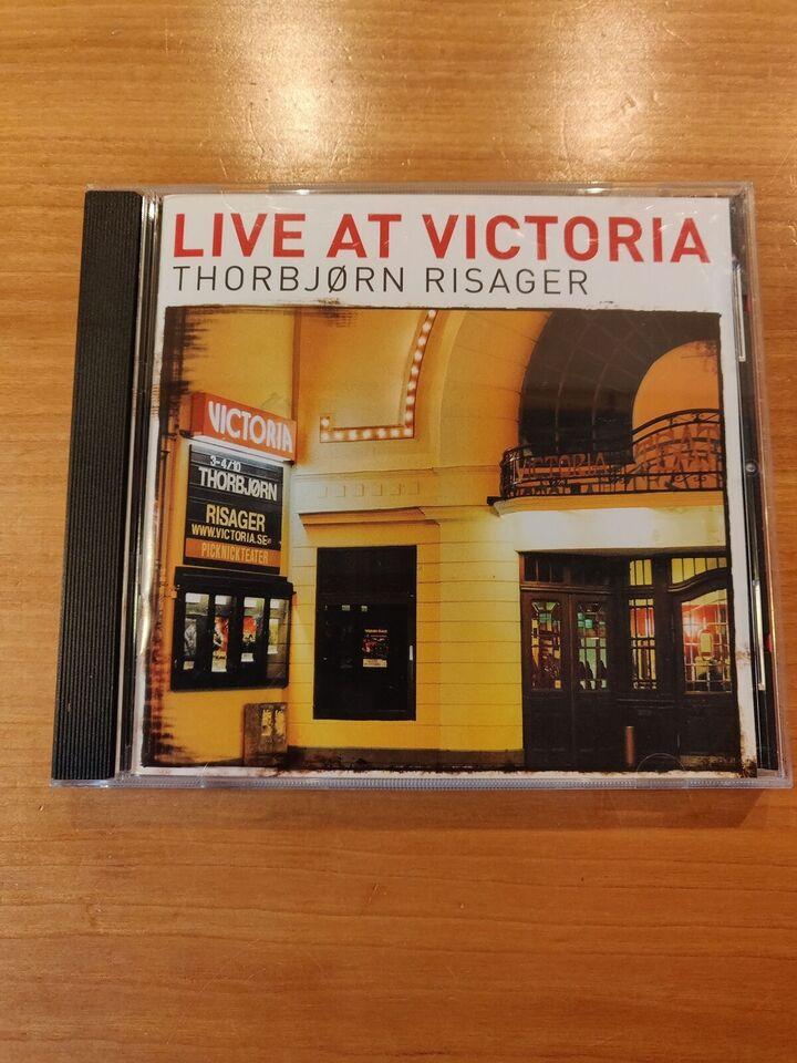 Thorbjørn Risager: Live at Victoria, blues