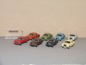 Set De 8 Mercedes Benz Schuco 1/87 Ref 452635400