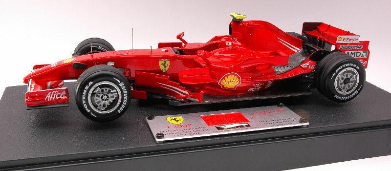 Hot Wheels hwn5423 Ferrari M. Schumacher 2007 test 1 18