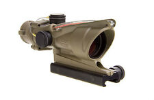 Trijicon TA31-C-100372 ACOG 4x32 Scope Illuminated Red Crosshair .223 Dark Earth