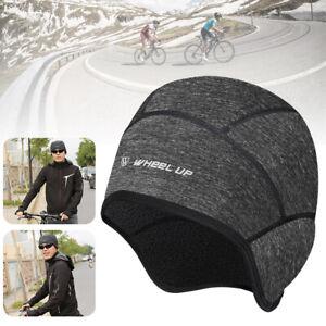 Cycling Cap Beanie Helmet Liner Thermal Fleece Winter Outdoor Sport Warmer Hat