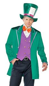 Leg Avenue Mens Mad Hatter Wonderland Costume