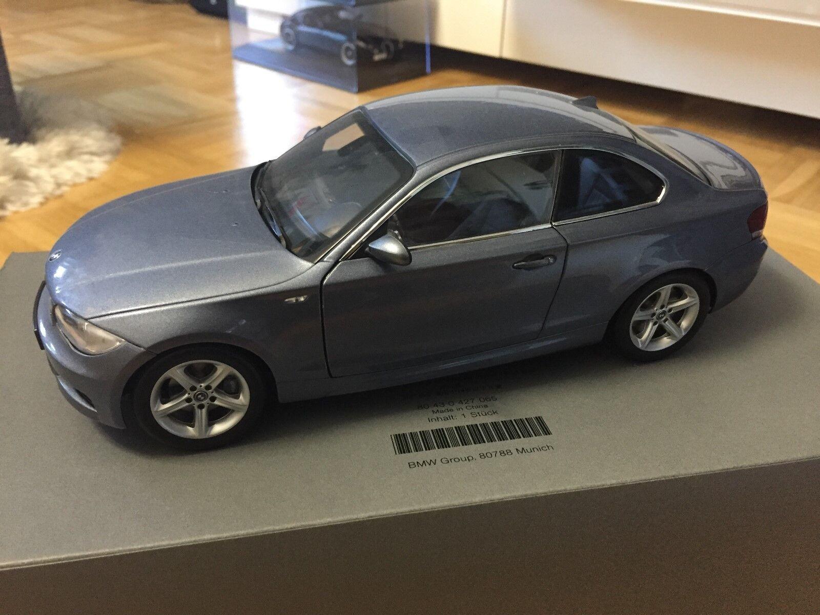 BMW 1er COUPE Cristallo Blu 1 18 KYOSHO