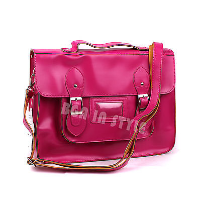 Ladies Designer Leather Style Celebrity Shoulder Satchel Tote Handbag Bag