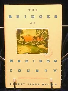 The-Bridges-of-Madison-County-Hardback-Book-by-Robert-James-Waller-1992-First-Ed