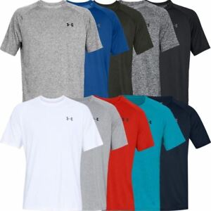 Under-Armour-2019-UA-HeatGear-Tech-2-0-Short-Sleeve-Training-Gym-Sports-T-Shirt