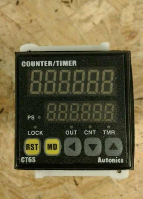 Autonics Digital Counter/Timer CT6S 100-240VAC  New In Box !      5C