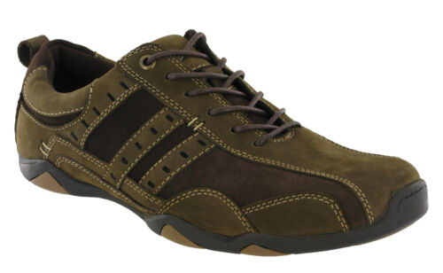 Brown Up Suede Mens Roamers Lace Waxy Ammortizzato Shoes Casual Leather Driving BTqRRwfzWS