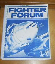 FIGHTER FORUM MAGAZINE FIGHTER GROUP ROYAL CANADIAN AIR FORCE CFB NORTH BAY 1982