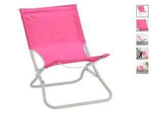 Ikea Sedie Pieghevoli Giardino.Ikea Hamo Sedia Da Spiaggia Pieghevole Giardino Pesca Rosa Ebay