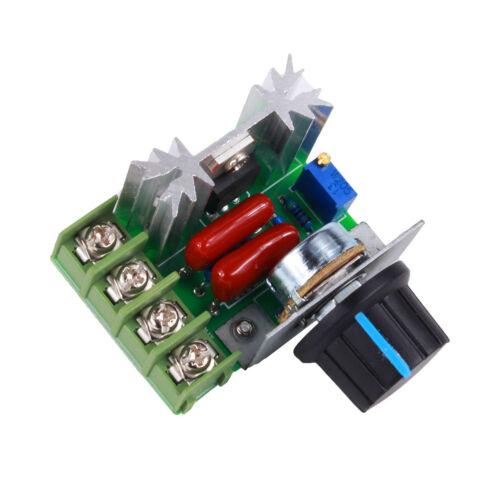 2000W Motor Drehzahlregler 50-220V 25A Motor Speed Kontroller Spannungsregler ♤