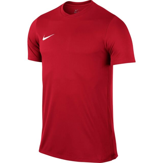 Nike Boys T-Shirt Park Football Jersey Tee Training Top Kids Gym Size S M L XL