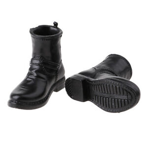 """1//6 Scale Military Combat Boots for 12/"""" Male Hot Toy Sideshow Action Figure"""