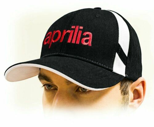 APRILIA unisex Baseball Cap Hat 100/% cotton Black color Adjustable size!!!!!!