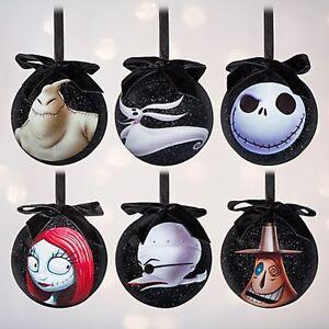 Disney Nightmare Before Christmas Ornament Set Jack Skellington NIB ...