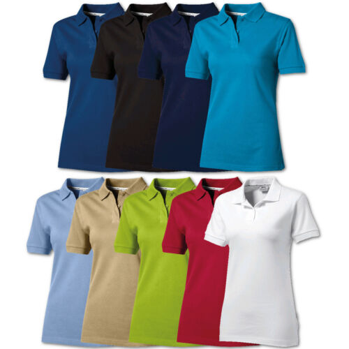 Damen Poloshirt Polo Shirt Slazenger Forehand Damen Poloshirt T-Shirt Freizeit T