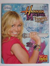 """PANINI CALCIATORI ALBUM """"Hannah Montana Forever"""", album vuoto Plus set di immagini"""