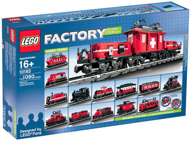 Lego Hobby Trenes 10183-Nuevo Sellado En Caja   retirado