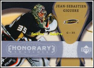 UD-TRILOGY-2007-JEAN-SEBASTIEN-GIGUERE-NHL-DUCKS-RARE-HONORARY-GAME-JERSEY-HSJG
