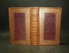 1827 Robert Pollok THE COURSE OF TIME A Poem in Ten Books 1st Edn 2 Vols GILT