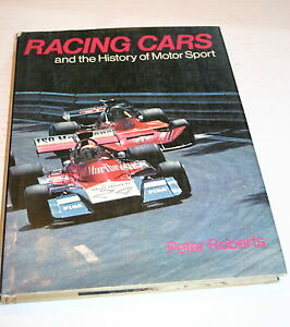 RACING-CARS-AND-THE-HISTORY-OF-MOTOR-SPORT-PETER-ROBERTS-HARDBOUND-VERY-GOOD