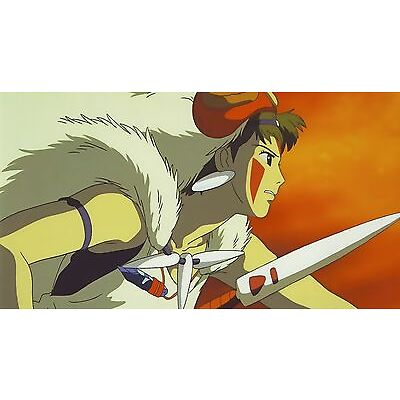 NEW PRINCESS MONONOKE STUDIO GHIBLI ANIME WALL ART PRINT - PREMIUM POSTER
