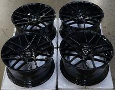 "18"" MRR Ground Force GF7 Wheels For Lexus CT200h 18-Inch Black Rims Set 18X8.0"