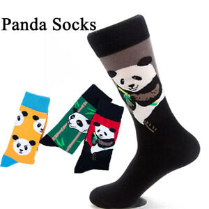 Autumn-Men-Colorful-Casual-Print-Chinese-Panda-Socks-Cotton-Sock