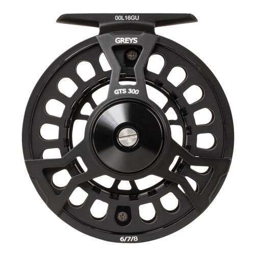 Greys GTS 300 Fly Fishing Reel 4//5//6 /& 6//7//8 d/'eau douce truite Fishing Reels