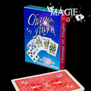 tour de magie carte change