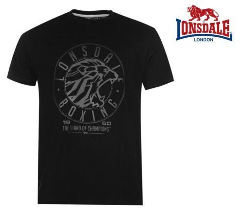 S M L XL  XXL Lonsdale T-Shirt Boxen Bodybuilding Fitness MMA UFC Golds Gym