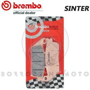 PASTIGLIE FRENO POSTERIORI BREMBO SINTERIZZATE 07075XS HONDA SW-T-ABS 600 2011