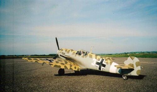 Spannweite 1727 mm Modellbauplan MESSERSCHMITT Me 109 E