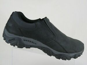 MERRELL-Moab-Rover-Black-Sz-13-W-Wide-Jungle-Moc-Hiking-Loafers