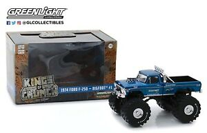 Greenlight-1974-Ford-F-250-Monster-Truck-Bigfoot-1-w-66-034-Tires-1-43-88011